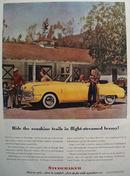 Studebaker Car 1948 Ad.
