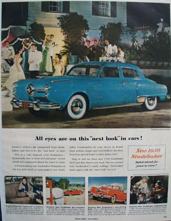 Studebaker Car 1949 Ad