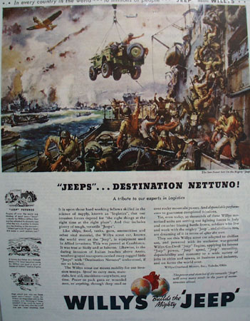 Willys Jeep 1944 Ad