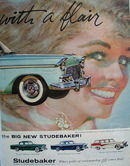 Studebaker Car 1955 Ad