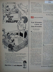Phillips Milk of Magnesia 1956 Ad