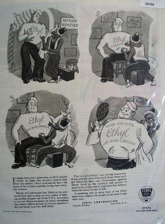 Ethyl Corp. 1944 Ad