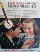 Eversharp Pen 1944 Ad