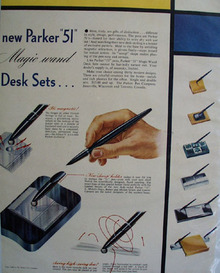 Parker Pen Co. 1947 Ad