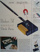 Parker Pen Co. 1948 Ad