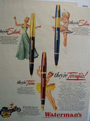 Watermans Pen 1946 Ad
