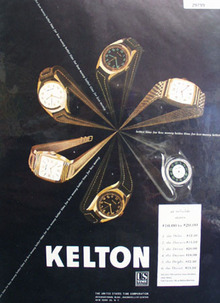 Kelton US Time Watch 1947 Ad