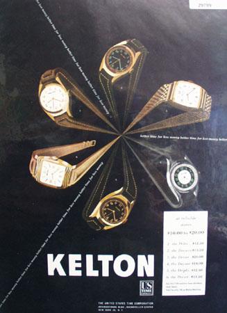 Kelton US Time Watch 1947 Ad