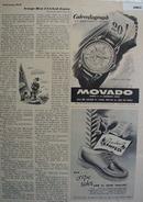 Movado  Calendograph Watch 1948 Ad