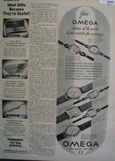 Omega Official Watch of the 1948 Olympics Ad