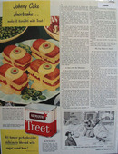 Armour treet Johnny Shortcake 1946 Ad