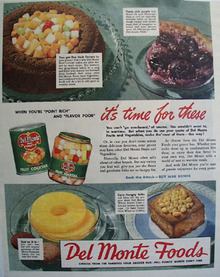 Del Monte Foods 1944 Ad