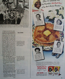 Aunt Jemima Pancakes and Buckwheat for Breakfast March 30, 1948 ad