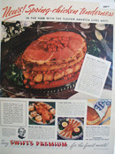 Swifts Premium Finest Meats 1938 Ad
