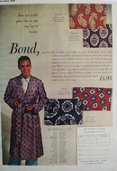 Bond Bathrobe Lap Of Luxury Ad 1948
