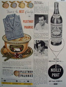 Pleetway Pajamas Christmas Ad 1949