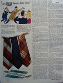 Arrow Ties Christmas Ad 1945