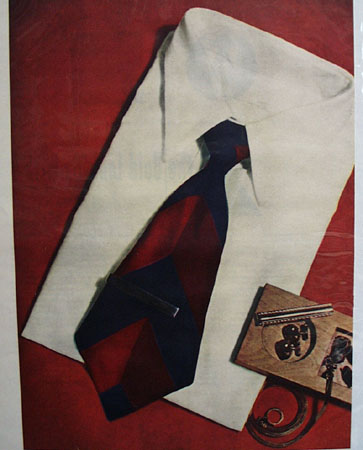 Bold Look Necktie Windsor Knot Ad 1948