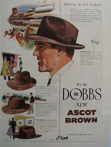 Dobbs Shading The Best of Them Ad 1948