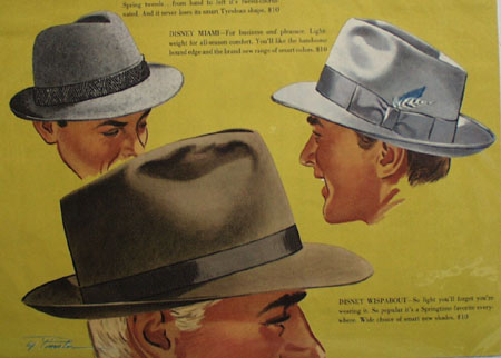 Disney Hat Experience Satisfaction Ad 1953