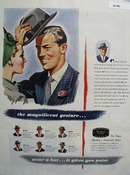 Wear A Hat The Magnificent Gesture Ad 1946