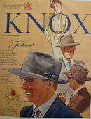 Knox Hats Foxhound Hat 1950