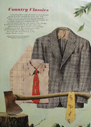 Country Classics Drawing by Merrill Harvey Ad 1948