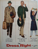 Dress Right You Can Not Afford Not To Ad 1956