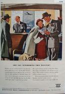 Burlington Mills Summering This Winter Ad 1947
