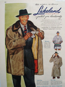 Lakeland Mfg This Winter As Always Ad 1948
