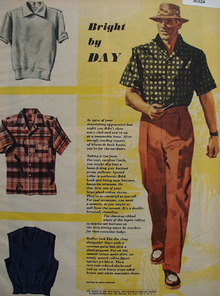 Bright As Day Drawing by M Burniston Ad 1949