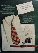 Bold Look Button Down Ensemble Ad 1948