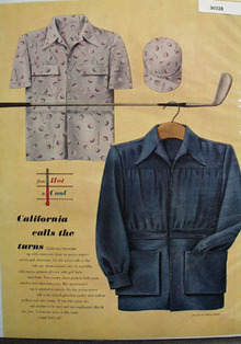 California Calls Turns Drawing By M Harvey Ad 1948