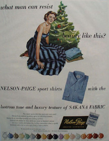 Nelson Paige Christmas Ad 1949