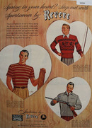 Revere Sportswear Spring In Your Heart Ad 1948
