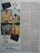 Van Heusen Sport Shirt One Shirt Add Up to 2 Ad 1946