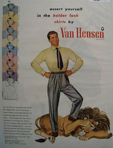 Van Heusen Shirts Assert Yourself  1948
