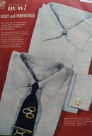 American Informal Shirt Smart And Comfortable Ad 1950