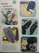 Esquires Suggestions of Holiday Gifts for Men Ad 1948