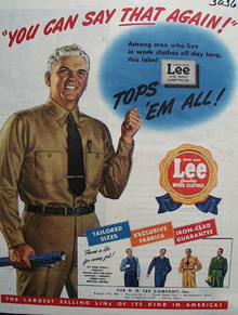 Lee Tops Them All ad 1944
