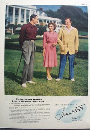 Smartair Precious Leisure Moments Ad 1947