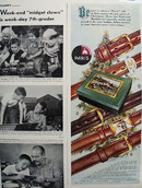 Paris Belts Christmas Ad 1951