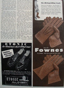 Fownes Gloves The Distinguishing Touch Ad 1948