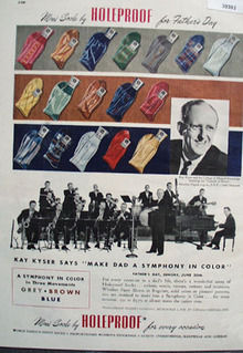 Holeproof Mens Socks Fathers Day Ad 1948