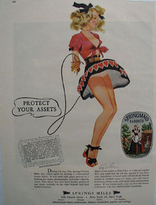 Spring Mill Protect Your Assets Ad 1948