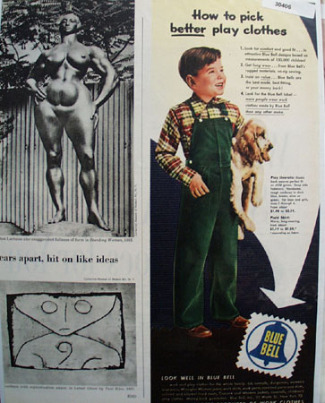 Blue Bell Pick Better Play Clothes.Ad 1950