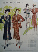 Some Have Coats Ladies Dresses Ad 1937