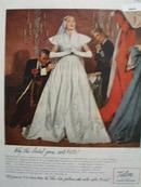 Talon Fastener Bridal Gown 650.00 Ad 1946