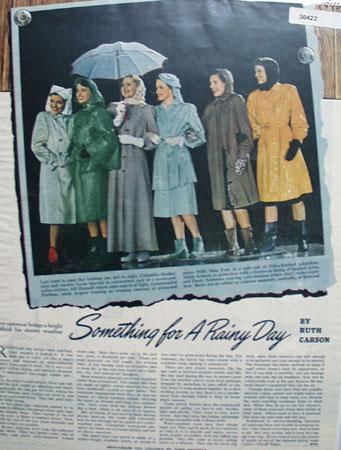 Something For Rainy Day Lynn Merrick Ad 1946