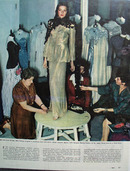 Gene Tierney 15,000 in Clothes Ad 1944